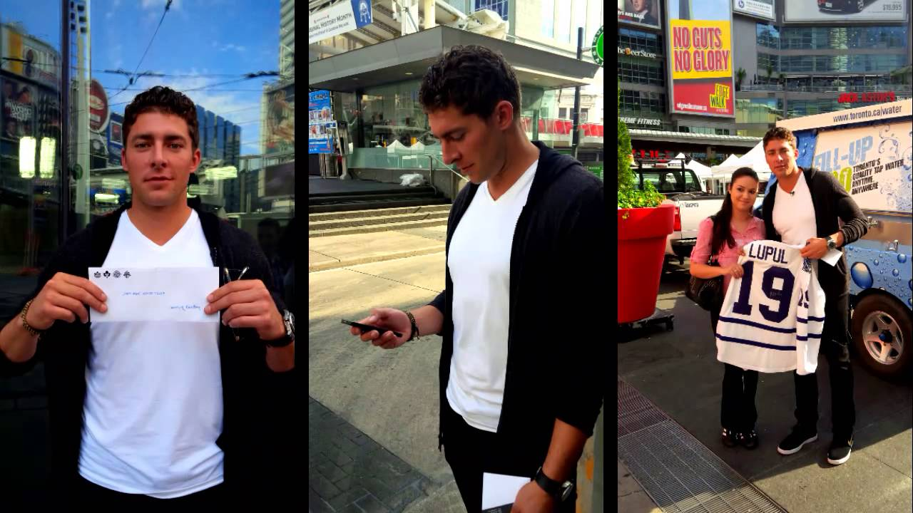 A morning with Lupul & BlackBerry