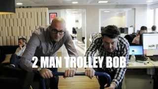 Winter Office Games - 2 Man Trolley Bob