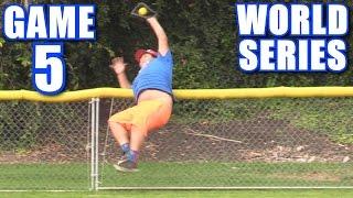 WORLD SERIES GAME 5! | On-Season Softball Series