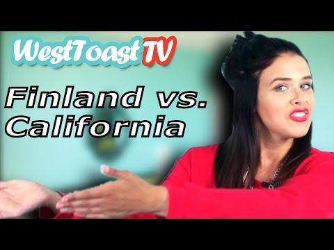 FINLAND VS. CALIFORNIA feat. SAARA