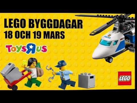 "LEGO Weekend with Toys ""R"" Us  Sweden Huddinge"