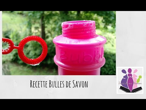 diy recette de bulles de savon ultra simple sans. Black Bedroom Furniture Sets. Home Design Ideas
