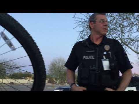 #Nonviral Police Stop at the Chandler Gilbert Community College; Arizona