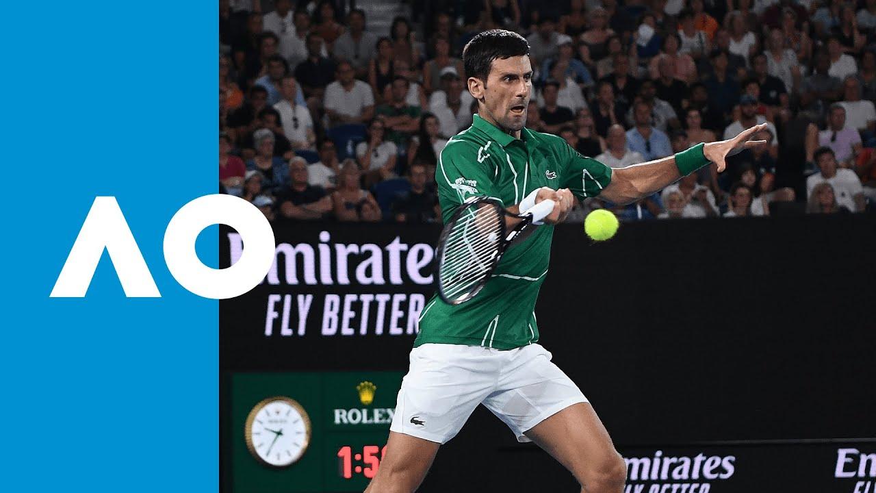 Roger Federer Vs Novak Djokovic Match Highlights Sf Australian Open 2020 Youtube