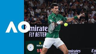 Roger Federer vs Novak Djokovic - Match Highlights (SF) | Australian Open 2020