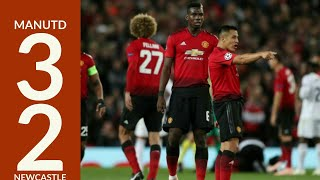 #highlights #manunited Man united Vs Newcastle United 3-2 All goals and highlights | 2018