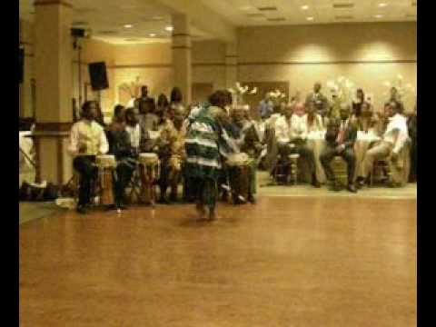 Senegalese African dance at my friend's wedding