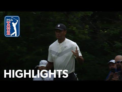 tiger-woods'-highlights-|-round-2-|-bmw-championship-2019