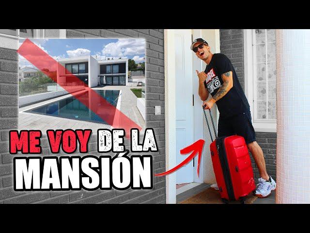 ME VOY DE LA MANSIÓN...!! **Vuelvo a casa de mi madre** - iLeoVlogs