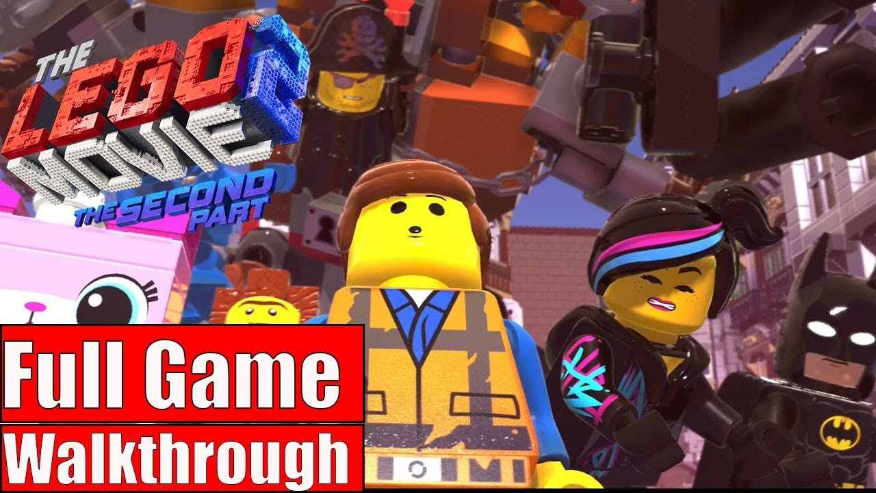 Lego Movie 2 Videogame Gameplay Walkthrough Part 1 Full Game Ps4 Pro No Commentary Youtube