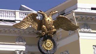 125-летие отмечает Русский музей в Санкт-Петербурге.