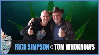 Rick Simpson @ Tom WhoKnows [ENG] - Healing Cancer with RSO (Cannabis) Oil