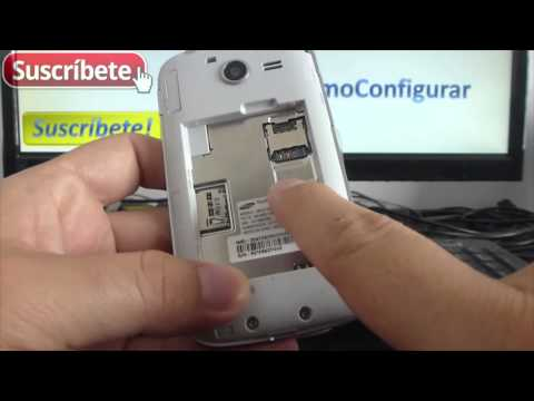 Samsung Galaxy Pocket 2 como instalar sim card