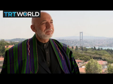 Exclusive interview with former Afghan president Hamid Karzai