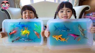 หนูยิ้มหนูแย้ม   วุ้นใต้ท้องทะเล Kids Activities
