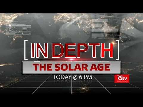 Promo - In Depth : The Solar Age | 6 pm