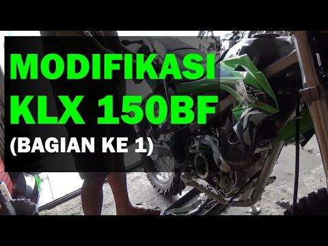 Modifikasi Kawasaki KLX 150BF Adventure, Trail, Enduro (bagian 1)
