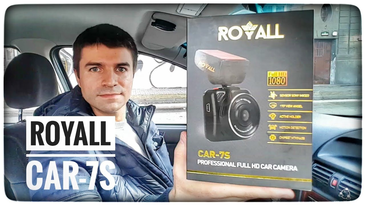 Wideorejestrator ROYALL CAR 7S Recenzja test