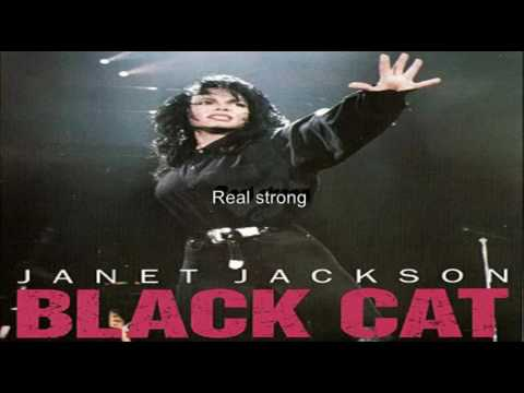 Janet Jackson Black Cat Lyrics