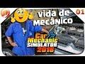 Vida de Mecânico #01 - Reparo no Modulo ABS e Freios - Car Mechanic Simulator 2018