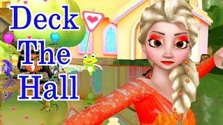 Deck The Hall Songs | Kids Songs | Nursery Rhymes | Baby Songs | Children Songs