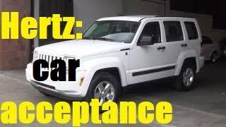 $18 USA Russian checking Jeep car at Hertz New York America / аренда авто в Нью-Йорке США