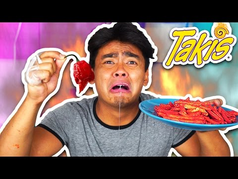 Thumbnail: EXTREME SPICY TAKIS CHALLENGE!