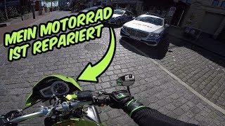 Mein Motorrad ist wieder da! Was war kaputt?