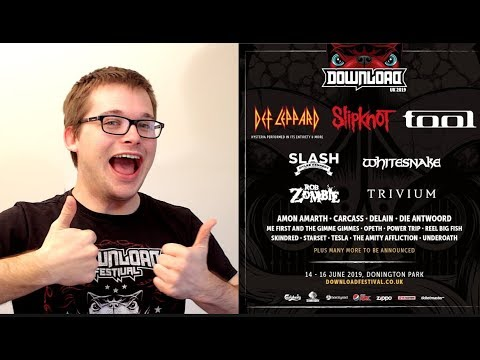 Download Festival 2019 - Headliners Announcement Mp3