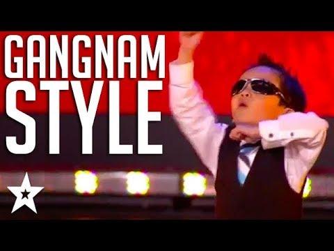 4 Year Old Kid Tristan Dances Gangnam Style on Belgium's Got Talent | Got Talent Global