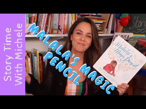 """story-time-with-michele!-""""malala's-magic-pencil""""-read-aloud-for-kids"""