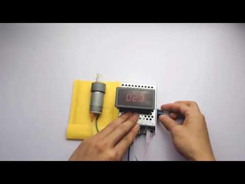 DC12V Motor Steuerung Drehzahlregelung Schalter pwm spannungsregler steuergerät digtal