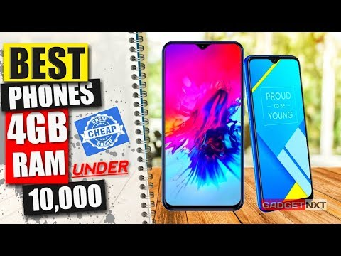 BEST Phones With 4GB RAM Under 10000 [CHEAP!...]