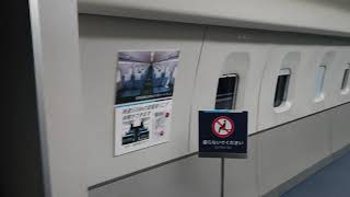 【リニアMLX-01】ドアが上にスライドしてる‼️(リニア鉄道館)