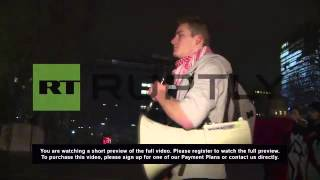 "Austria: ""Government is only serving the rich"" say protesters"