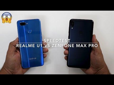 Asus Zenfone Max Pro M1 Vs Realme U1 SpeedTest Comparison I Hindi