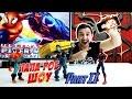 Папа РОБ и Человек Паук (Spider Man) ВИДЕО ОБЗОР игры Spider Man Unlimited Гонка за Носорогом