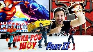 Папа РОБ ОБЗОР игры Spider Man Unlimited. Часть 2