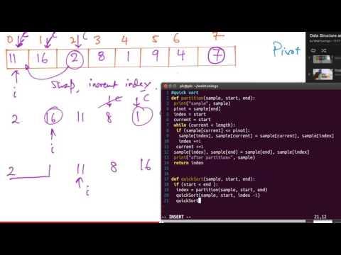 Python Algorithms - QuickSort - divide and conquer