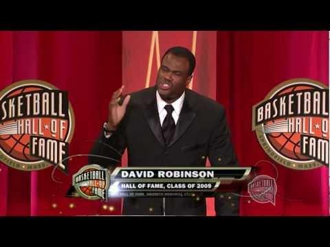 David Robinson's Basketball Hall of Fame Enshrinement Speech