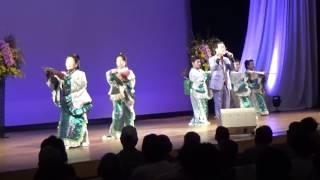 2017年2月26日、佐伯市弥生文化会館にて山田壽一チャリティー歌謡ショー...