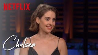 Alison Brie and Betty Gilpin Talk Female B.O. and Pubic Hair Preferences   Chelsea   Netflix