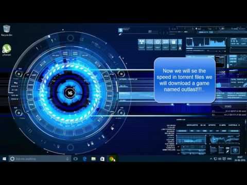 Excitel speed test and torrent file download test!!!!