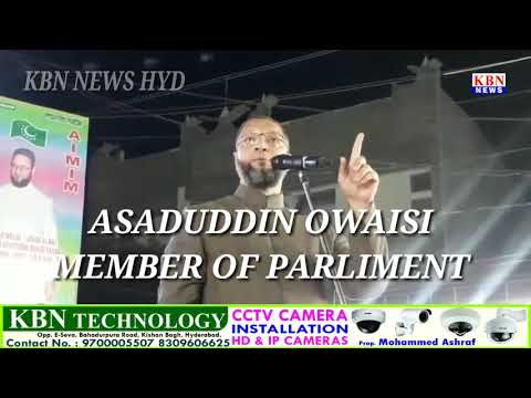 Asaduddin Owaisi Strong Message To Cyberabad Police Commissioner|Hyderabad
