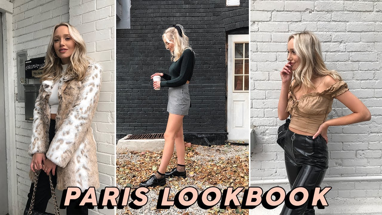 [VIDEO] - what i would have worn in paris (lol) | fall autumn outfit ideas 6