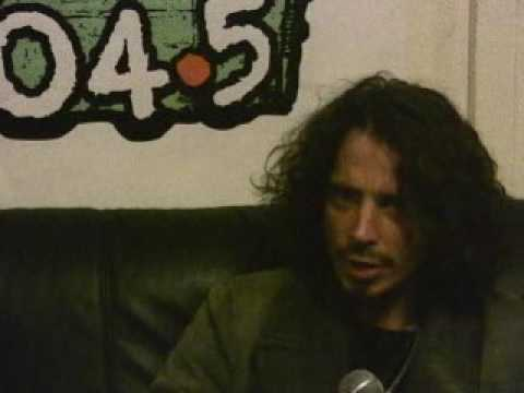 Chris Cornell Interview in the early days at Radio 104.5