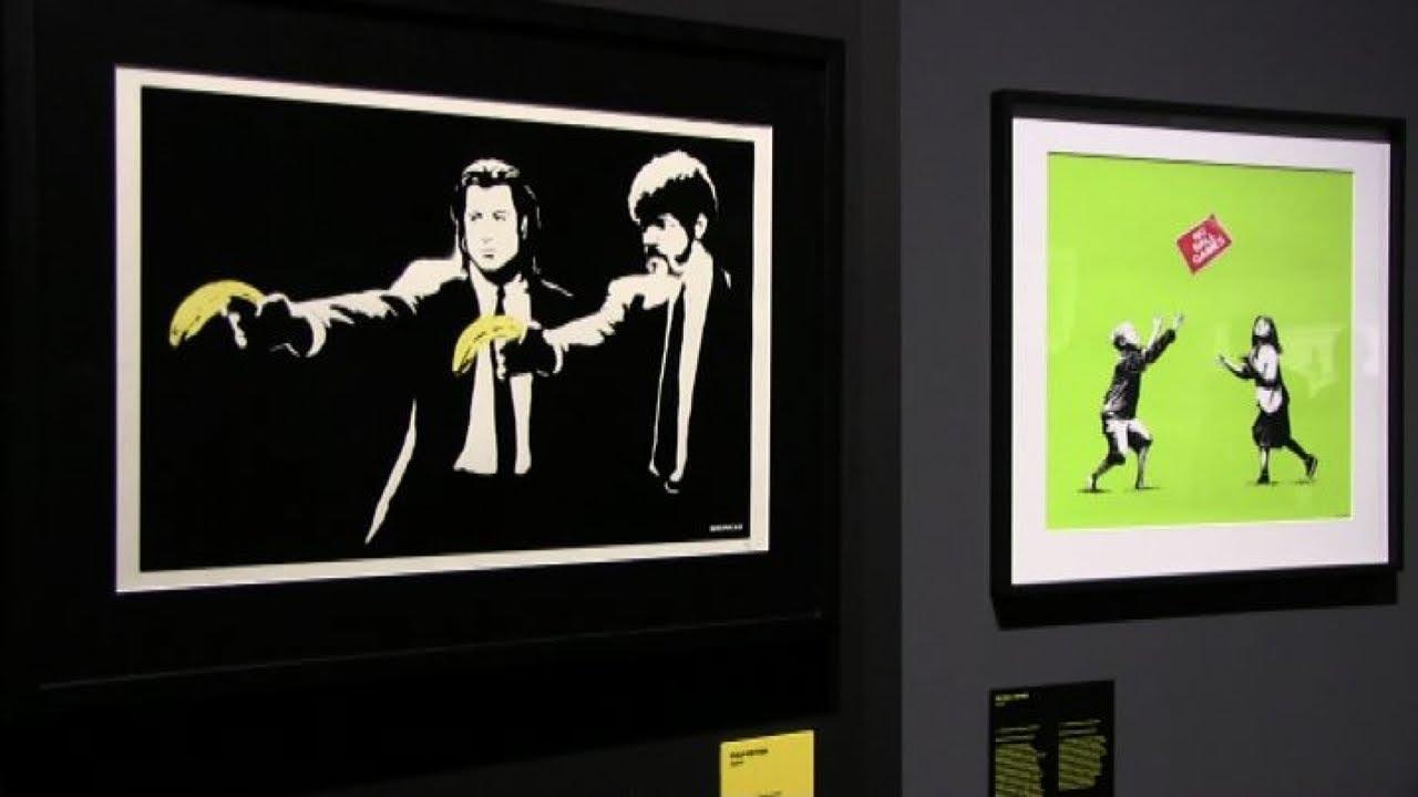 Risultati immagini per a visual protest the art of banksy