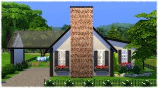 the sims 4  speed build     single sim house    no cc