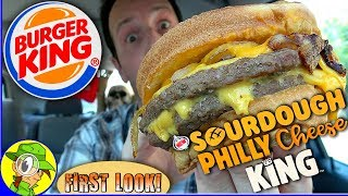 Burger King® | Sourdough Philly Cheese King™ | Food Review! 🍔👑🧀🥩