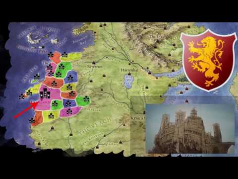 House Lannister, Casterly Rock and Lannisport | History and Locations